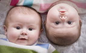 Beautiful And Cute Twin Baby Hd Photo ...
