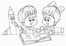 Disegni Da Colorare Per Il Primo Giorno Della Scuola Dell Infanzia