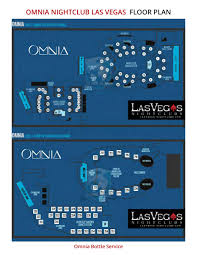 Omnia Floor Plan And Table Seating Chart By Omnia Floor Plan