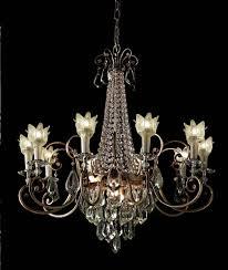 Silber Blumen Kronleuchter The Lightcouture
