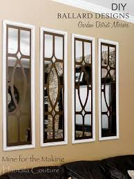 Small Picture DIY Ballard Designs Garden District Mirrors Mine for the Making