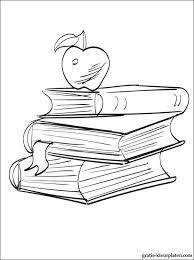 Kleurplaat Schoolboeken Gratis Kleurplaten
