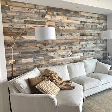 5 reclaimed solid wood wall paneling