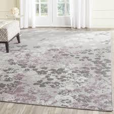 lark manor ales light grey purple area rug reviews wayfair ca and rugs for 7