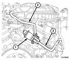 how to replace the egr valve l v