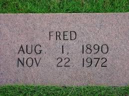 Fred Palmer (1890 - 1972) - Genealogy