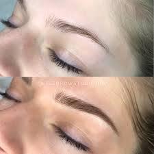 Permanentní Make Up Obočí 3d Vláskovou Metodou Nebo Ombré Obočí