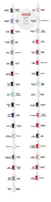 Essie Gel Colors Chart Essie Gel Color Chart Ivory And Olive Nails Trendy