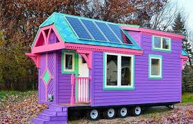 solar powered tiny house. Wonderful Solar Colorful Ravenlore Tiny House On Solar Powered D
