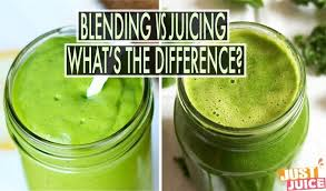 WHAT'S THE DIFFERENCE BETWEEN JUICING AND BLENDING
