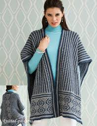 Free Knitted Poncho Patterns Enchanting Poncho Knitting Pattern Free