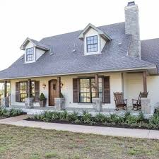 Image Result For Exterior Makeover + Painted Brick + Off White + Cream