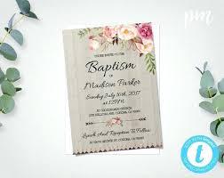 Printable Baptism Invitation Maker Catholic In Unique Invitations