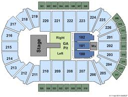 Resch Center Tickets Seating Charts And Schedule In Green