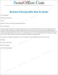 Closing Business Letter Sample Closure Of Business Letter Sample Lvcrelegant 3