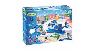 Игровой <b>набор Wader</b> Kid Cars 3D <b>полиция</b> 53320 — купить по ...