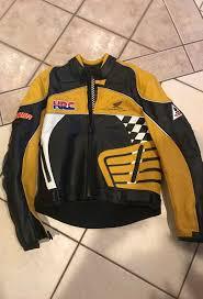 leather honda racing jacket