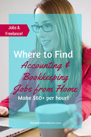 best images about work from home ideas work from accounting and bookkeeping jobs from home