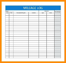 Free Printable Mileage Log For Taxes Free Printable Mileage Log Template Unique Elegant Sheet For