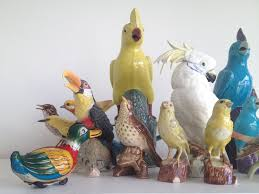 Collection Of Ceramic Bird Figurines