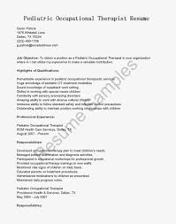 Use this FREE Sample Pediatric Occupational Therapist Resume with  objective, .