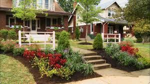 front yard garden ideas. Ideas For Flower Beds In Front Of Porch Landscape Plans Yard Garden Sweet Outdoor Home Design