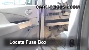 interior fuse box location 2004 2009 nissan quest 2006 nissan locate interior fuse box and remove cover