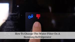 samsung fridge filter change. Unique Filter How To Change The Water Filter In A Samsung Refrigerator On Fridge C