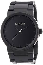 amazon com nixon cannon watch men s all black nixon watches nixon cannon watch men s all black