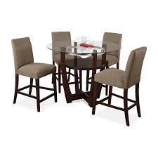 dining room table sets with bench. Alcove Counter-Height Dinette With 4 Side Chairs - Beige Dining Room Table Sets Bench
