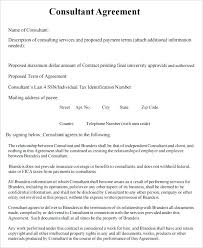 Consulting Contract Template Free Download Consulting Contract Template Free