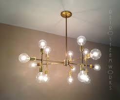 home design diy edison bulb chandelier custom made modern contemporary light piano multiple lamp5 3y inspiring