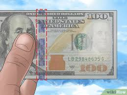 3 ways to check if a 100 dollar bill is
