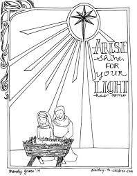 Small Picture Coloring Pages Charlie Brown Christmas Nativity Coloring Page