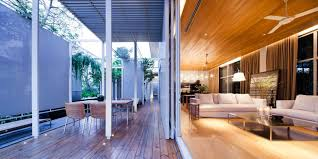 modern houses interior and exterior