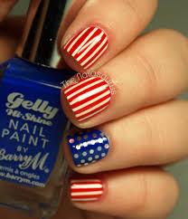 4th of July Nails: Stars and Stripes Nail Art | more.com