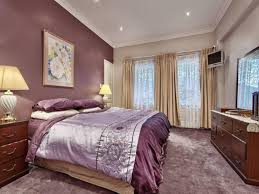 romantic bedroom purple. Purple Accent Wall Grey And Bedroom Paint Ideas One Romantic