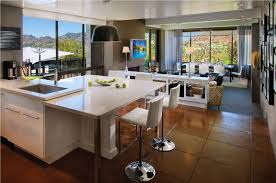 Kitchen Living Space Kitchen Open Floor Plan Kitchen And Living Room With Wide