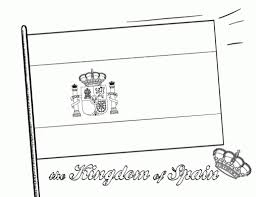 Small Picture Flag Of Spain Coloring PageOfPrintable Coloring Pages Free Download