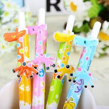 fancy office supplies. 6 Pcs/lot Cute Cartoon Ball Pens Plastic Kawaii Korean Stationery Fancy Giraffe Pen School Supplies Gifts-in Ballpoint From Office \u0026 On