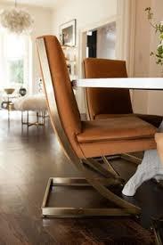 modern furniture modern gold seating around white round table