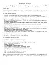 Mortgage Underwriter Resume Example | Dadaji.us