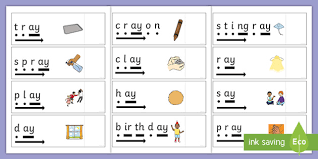 In phase 4 phonics, children will, among other things: Phase 5 Ay Read And Reveal Activity Teacher Made