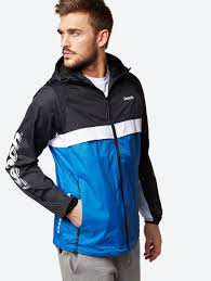 windbreaker in colour blocking design