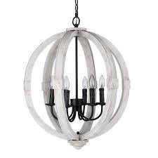 journee lighting. Journee Home \u0027Oran\u0027 28 In Wood 6 Light Hard Wired Orb Chandelier - Free Shipping Today Overstock 20677155 Lighting