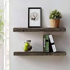 hsh rustic wood floating shelf rugged