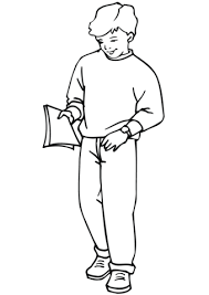 Small Picture School Boy coloring page Free Printable Coloring Pages