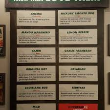 Wingstop Sauce Chart Wingstop 2019 All You Need To Know Before You Go With