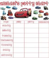 Free Printable Cars Potty Training Chart New Disney Cars Potty Training Chart From Pull Ups To Get