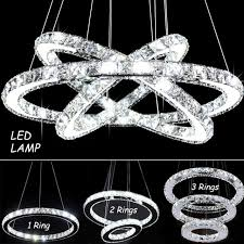 modern chandelier led crystal ring chandelier ring crystal light pertaining to modern property crystal ring chandelier decor